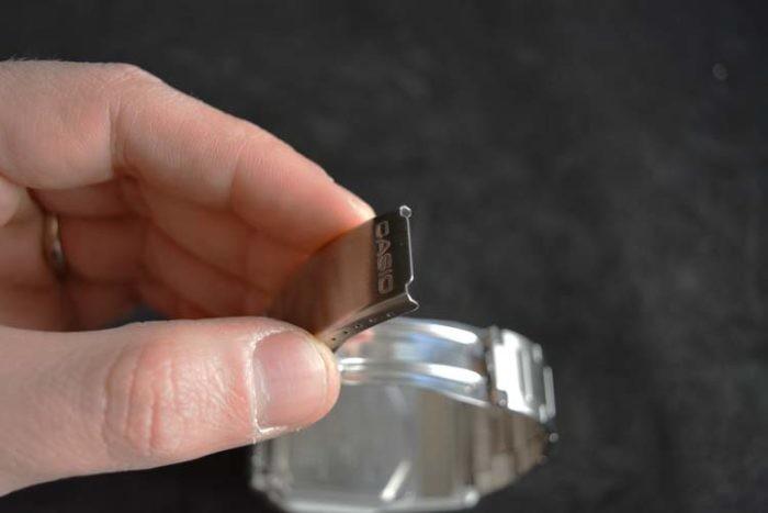 Orologio Casio con la calcolatrice