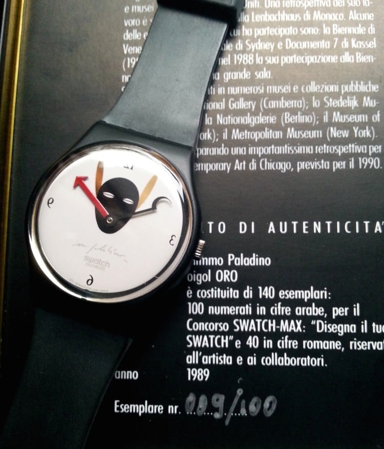 Swatch Oigol Oro orologio