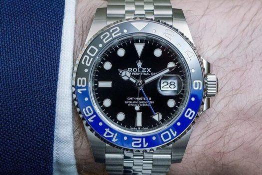 Rolex Batman GMT II Ref. 116710BLNR