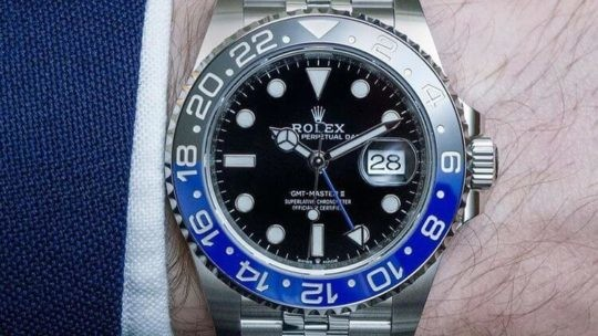 Rolex GMT 126710BLNR