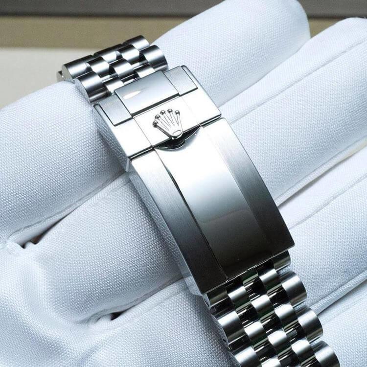 Bracciale Jubilè Rolex GMT 126710BLNR