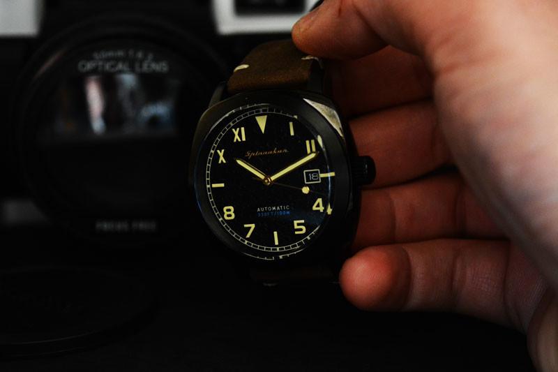 Recensione e opinioni dell'orologio Spinnaker SP-5071-03