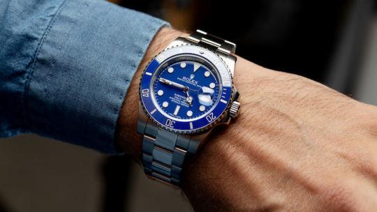 Rolex Submariner Blu 116619LB
