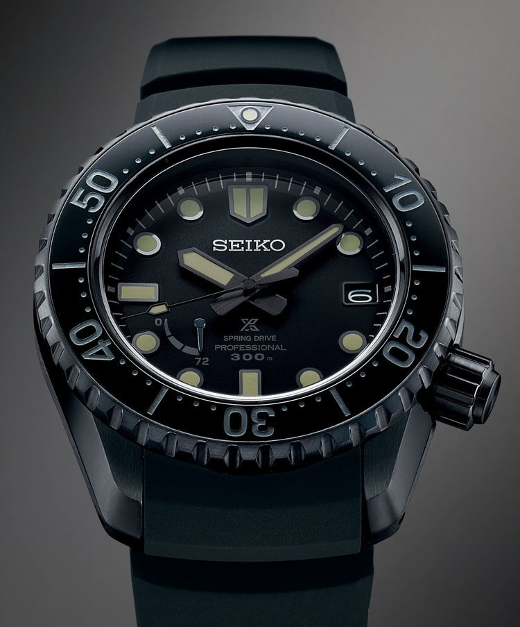SEIKO PROSPEX LX BLACK EDITION 2019