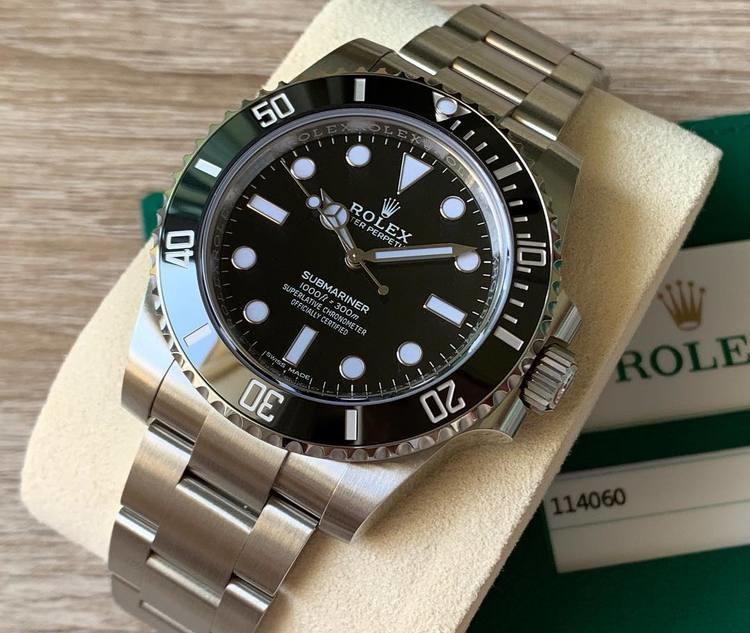 Rolex Submariner 114060 Ghiera Ceramica Quadrante Nero