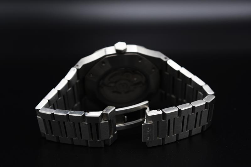 Cassa in acciaio inossidabile 41.5 mm e 9.50 mm di spessore