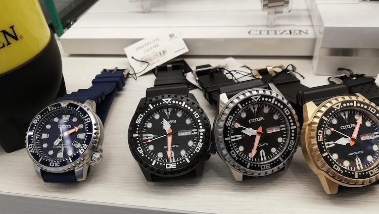 Orologi subacquei citizen prezzi
