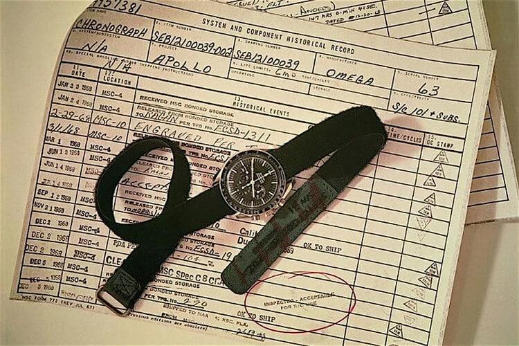 Storia dell'orologio Omega Speedmaster in dotazione per la missione Apollo 11 del 1969