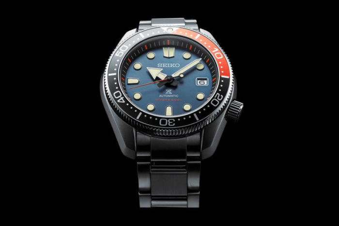 Seiko Prospex Twilight Blue Red SPB097J1