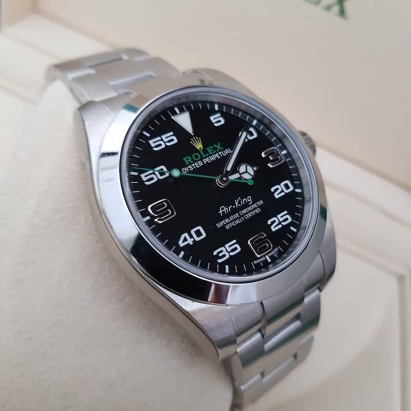 Recensione e opinioni del Rolex Air-King Acciaio Oystersteel M116900-0001