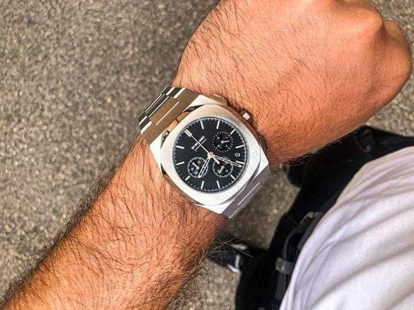 D1 Milano Chronograph indossato al polso