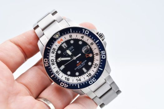 Citizen GMT Promaster Divers Eco-Drive