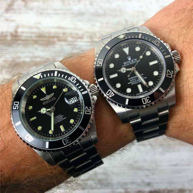 differenza tra invicta 8926 vs rolex submariner