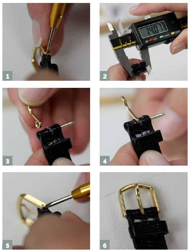 Come cambiare la fibbia al cinturino dell'orologio
