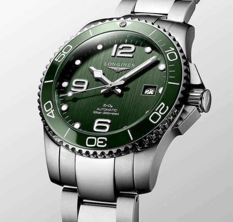 HydroConquest verde 43mm automatico Ref. L3.782.4.06.6 L3.782.4.06.6