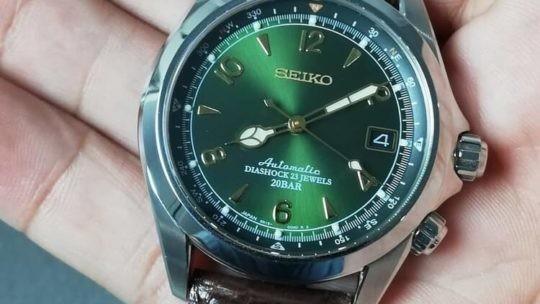 Recensione Seiko Alpinist SARB017