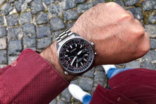 Citizen Pilot Evolution 5 in Titanio