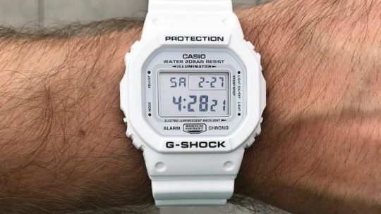 Recensione Casio G-Shock Bianco