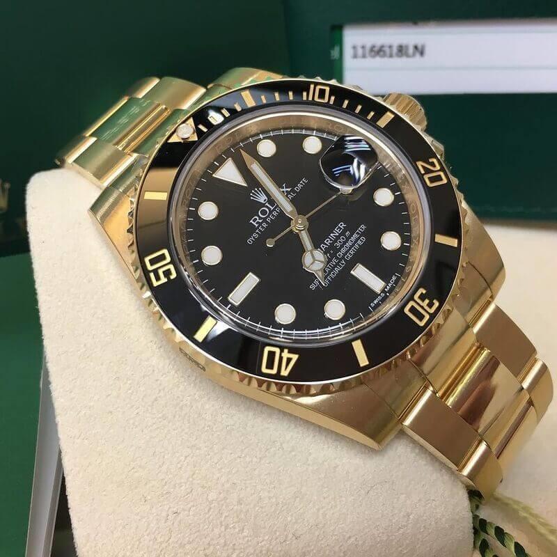 Orologio Rolex Submariner Date: Oro giallo 18 ct
