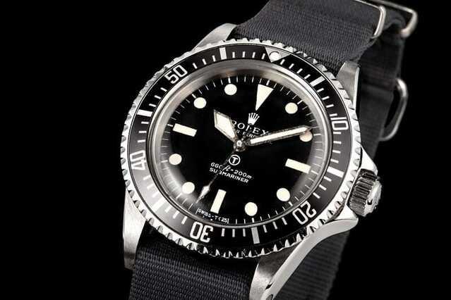 Rolex 5517 militare