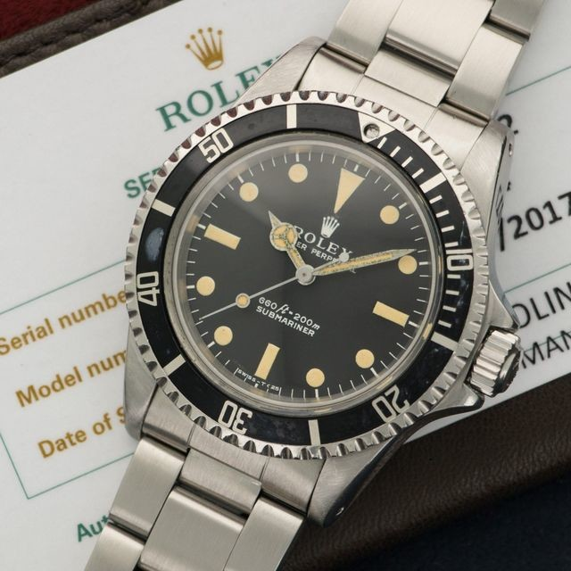 Rolex Steel Submariner Ref. 5514