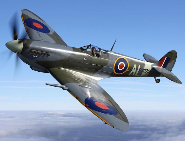 Orologio ispirato all'aereo Supermarine Spitfire