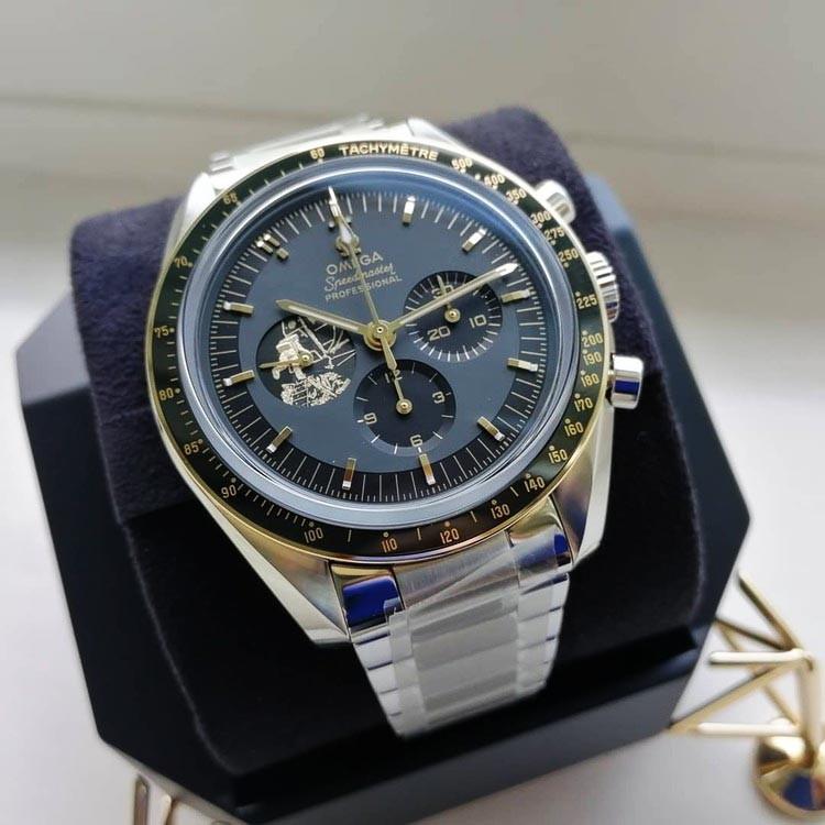 Movimento automatico Master Chronometer 3861 con scappamento Co-Axial e spirale in silicio