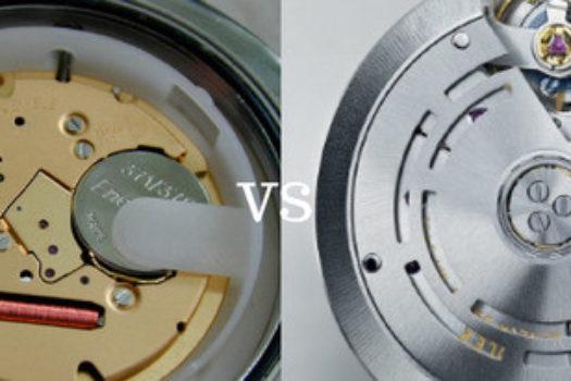 Qual è il miglior orologio: movimento al quarzo o orologio automatico?