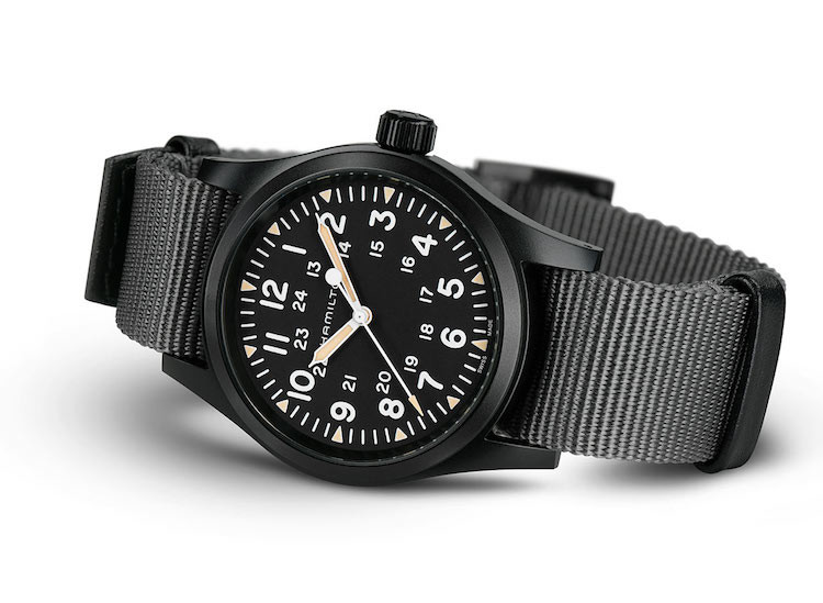 Hamilton Khaki Field Mechanical Black 38 mm del 2020