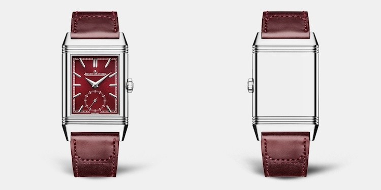 Jaeger-LeCoultre Reverso Tribute Small Second Rosso