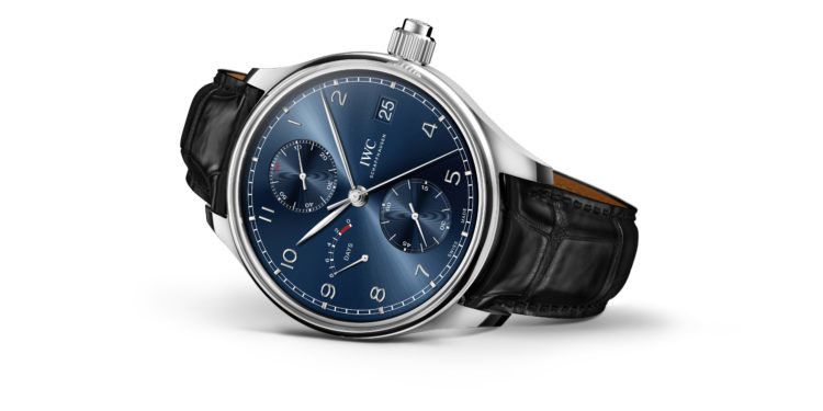 IWC Portugieser Hand-Wound Monopusher Edition «Laureus Sport for Good»