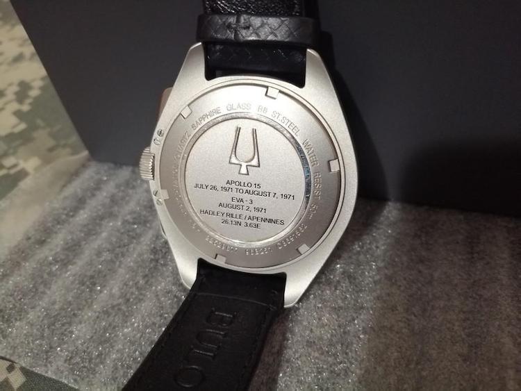 Fondello Bulova Moon Watch