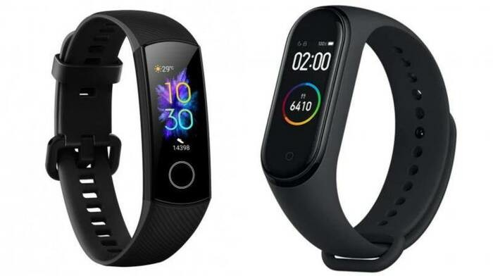 confronto Honor Band 5 vs Xiomi mi band 4