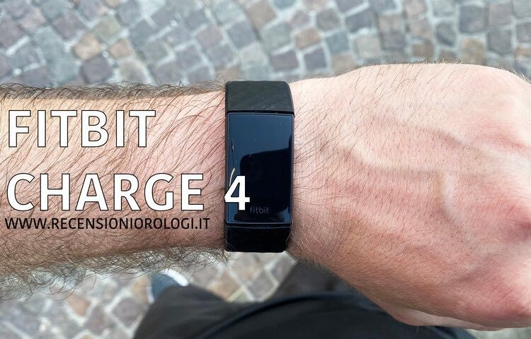 Recensione Fitbit Charge 4