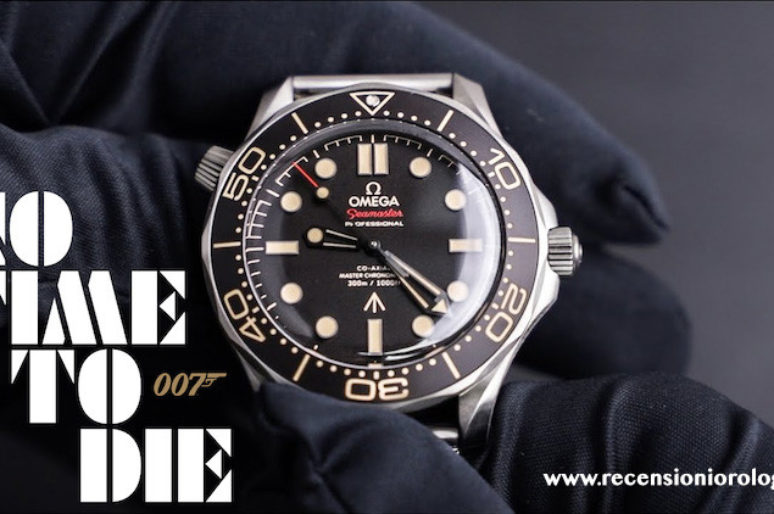 """Omega Seamaster 007 Diver 300M Edition """"No Time To Die"""""""