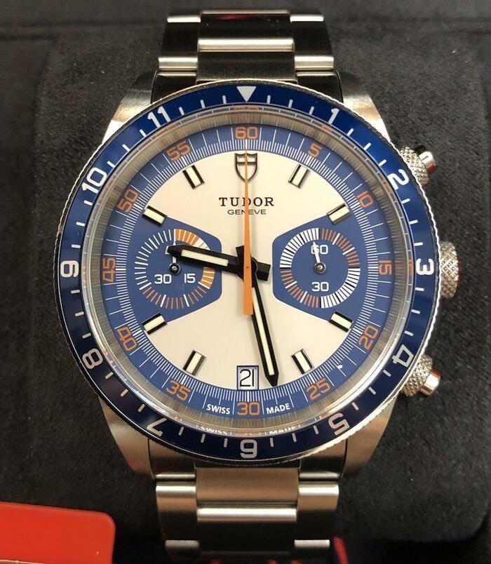 Tudor Heritage Chrono Blu