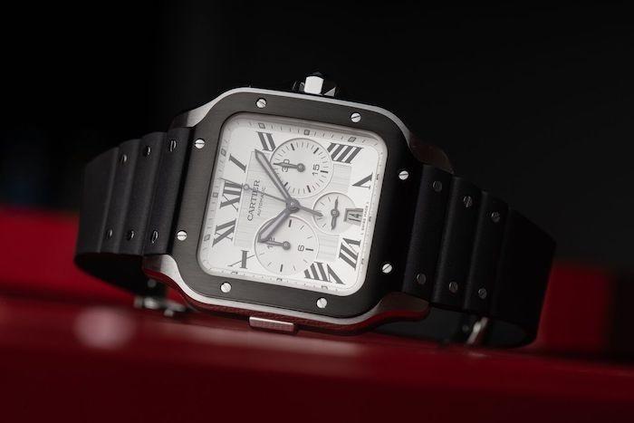 Cartier Santos De Cartier Chronograph