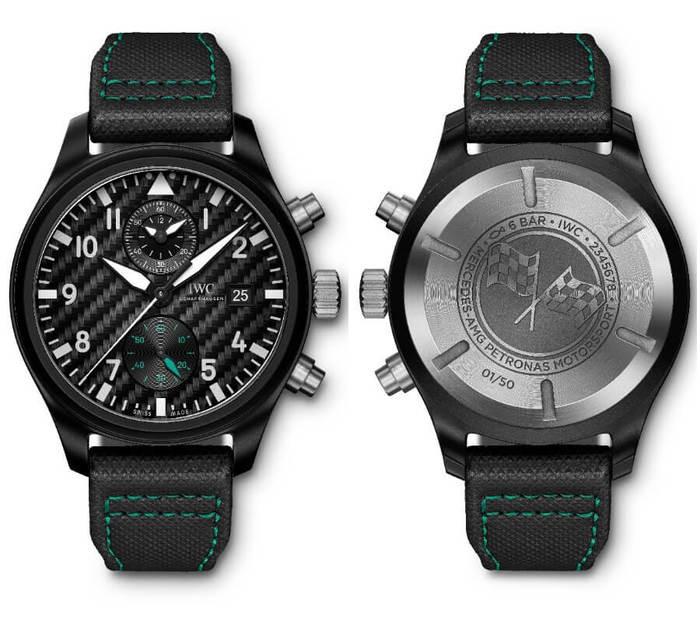 IWC Schaffhausen IW389005-Pilot's Watch Chronograph Edition Mercedes-AMG Petronas