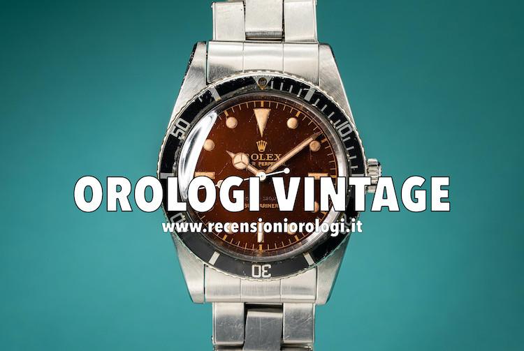 I migliori orologi vintage