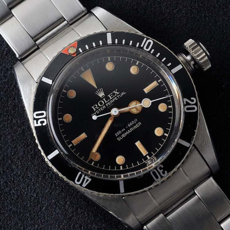 Rolex Submariner Big Crown 6538