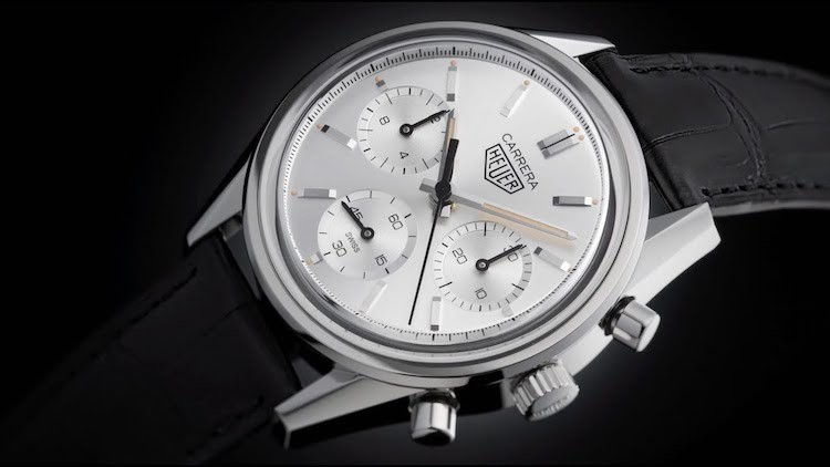 TAG Heuer Carrera 160 Years Silver Limited Edition Ref. CBK221B