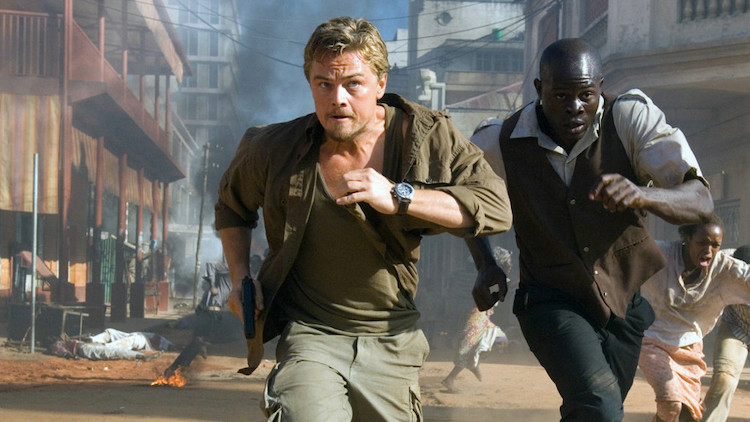 Leonardo DiCaprio indossa Breitling Chrono Avenger in Blood Diamond