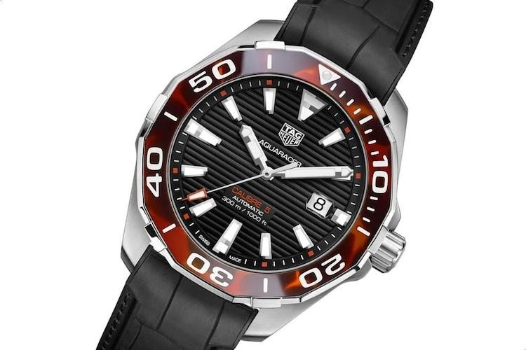 TAG Heuer Aquaracer 43 mm Tortoise Shell Effect