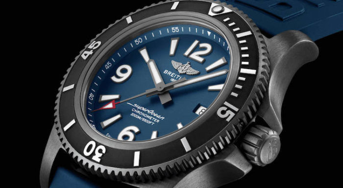 Breitling Superocean Automatic 46 Blacksteel Ref.M17368D71C1S1