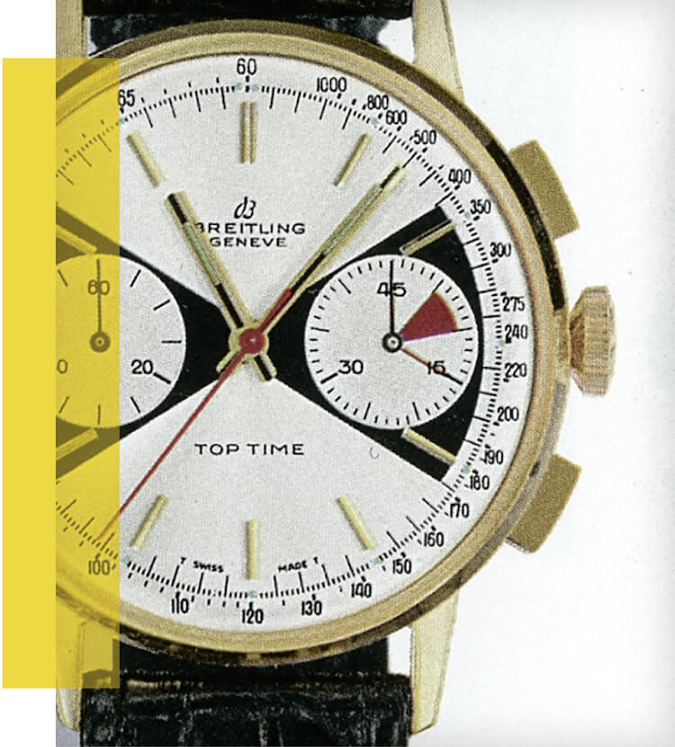 Breitling Top Time vintage