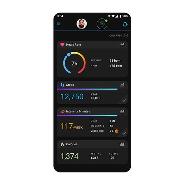 App Garmin Connect