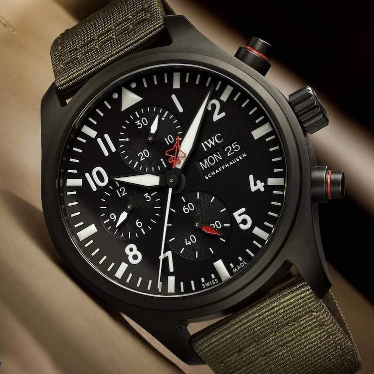 IWC Pilots Watch Chronograph TOP GUN Edition SFTI - IW389104.