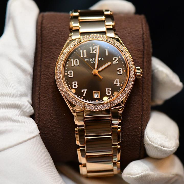 Orologio da donna Patek 7300/1200R-010 Twenty4 Full Rose Gold