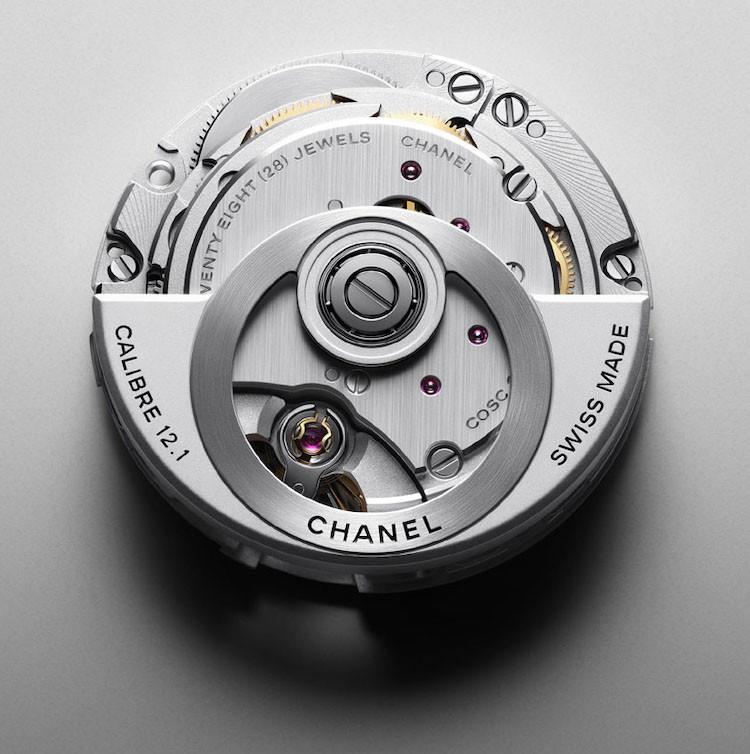 Movimento orologio automatico Chanel