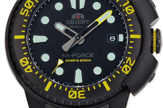Orient M-FORCE RAIKOU: Edizione Limitata per il Mercato Europeo